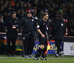 Chris Wilder manager of Sheffield Utd reacts on the touchline during the English League One match at Bramall Lane Stadium, Sheffield. Picture date: November 29th, 2016. Pic Simon Bellis/Sportimage