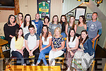 Carmel O'Callaghan Fairhill, Killarney who celebrated her40th birthday with her family and friends in the Falite bar on Sunday before heading off around the Ring of Kerry