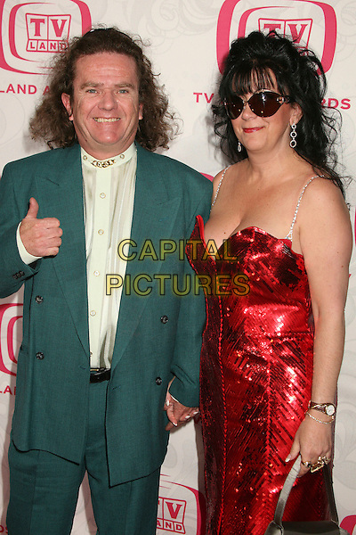 BUTCH PATRICK & GUEST.5th Annual TV Land Awards at Barker Hangar, Santa Monica, California, USA, 14 April 2007..half length.CAP/ADM/BP.©Byron Purvis/AdMedia/Capital Pictures.