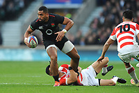 Joe Cokanasiga of England in action during the Quilter International match between England and Japan at Twickenham Stadium on Saturday 17th November 2018 (Photo by Rob Munro/Stewart Communications)