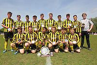 Braintree & North Essex Sunday League Neil Horrocks Memorial Invitation Plate Final 10-05-15