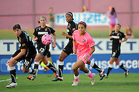 Casey Nogueira (27) of Sky Blue FC. The Western New York Flash defeated Sky Blue FC 2-0 during a Women's Professional Soccer (WPS) match at Yurcak Field in Piscataway, NJ, on July 17, 2011.