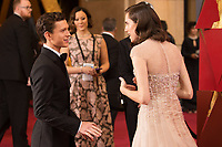 Tom Holland and Allison Williams on the red carpet of The 90th Oscars&reg; at the Dolby&reg; Theatre in Hollywood, CA on Sunday, March 4, 2018.<br /> *Editorial Use Only*<br /> CAP/PLF/AMPAS<br /> Supplied by Capital Pictures