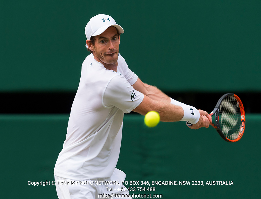 ANDY MURRAY (GBR)<br /> <br /> TENNIS - THE CHAMPIONSHIPS - WIMBLEDON- ALL ENGLAND LAWN TENNIS AND CROQUET CLUB - ATP - WTA -ITF - WIMBLEDON-SW19, LONDON, GREAT  BRITAIN- 2017  <br /> <br /> <br /> &copy; TENNIS PHOTO NETWORK