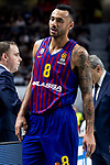 Adam Hanga of FC Barcelona Lassa during Turkish Airlines Euroleague match between Real Madrid and FC Barcelona Lassa at Wizink Center in Madrid, Spain. December 13, 2018. (ALTERPHOTOS/Borja B.Hojas)