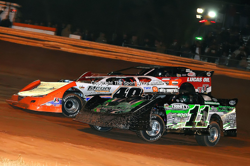 Jan 28, 2010; 9:19:08 PM; Waynesville, GA., USA; The Southern All Stars Racing Series running The Super Bowl of Racing VI at Golden Isles Speedway.  Mandatory Credit: (thesportswire.net)