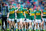 Ciarán O'Reilly Kerry players after defeating Cavan in the All Ireland Minor Semi Final in Croke Park on Sunday.