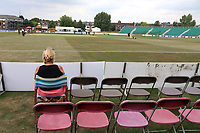 General view of the ground as a spectator looks on ahead of Kent Spitfires vs Essex Eagles, NatWest T20 Blast Cricket at The County Ground on 9th July 2017