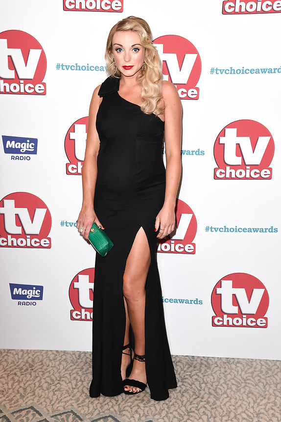 Helen George<br /> arriving for the TV Choice Awards 2017 at The Dorchester Hotel, London. <br /> <br /> <br /> ©Ash Knotek  D3303  04/09/2017