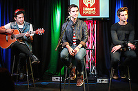 BALA CYNWYD, PA - SEPTEMBER 14: Action Item visit Q102's iHeart Radio Performance Theater in Bala Cynwyd, Pa on September 14, 2012  © Star Shooter / MediaPunchInc /NortePhoto.com<br />