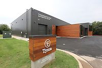 NWA Democrat-Gazette/DAVID GOTTSCHALK The new Tyson Foods Manufacturing and Automation Center Thursday, August 8, 2019, following an unveiling ceremony for the center in Springdale. The center will provide space for the development of new manufacturing solutions, collaboration with equipment suppliers and worker training on new technology.