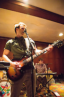 The Dismemberment Plan performs in concert at Philadelphia's First Unitarian Church on November 7, 2014.