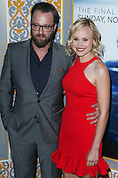 LOS ANGELES, CA, USA - NOVEMBER 04: Joshua Leonard, Alison Pill arrive at the Los Angeles Season 3 Premiere Of HBO's Series 'The Newsroom' held at the DGA Theatre on November 4, 2014 in Los Angeles, California, United States. (Photo by Xavier Collin/Celebrity Monitor)