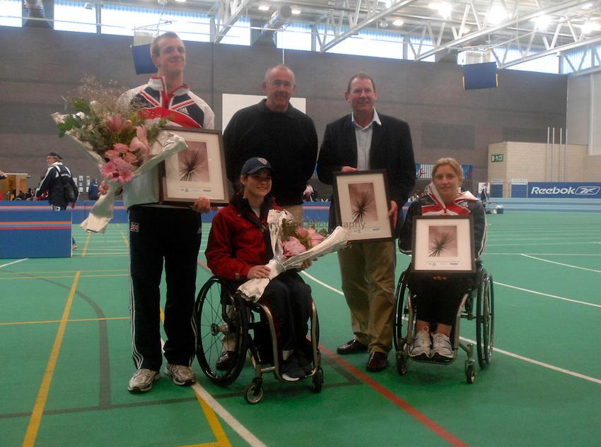 Photo: Richard Lane..VISA Paralympic World Cup 2007. Athletics. 13/05/2007. .Visa presentation.