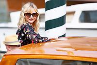 VENICE, ITALY - September 4th: Kirsten Dunst arrives at Darsena Excelsior during 74th Venice Film Festival at Excelsior Hotel on September 4th, 2017 in Venice, Italy. (Mark Cape/insidefoto)