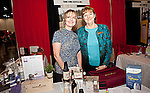 Dana Hartstein and Debra Raybern at the Young LIving booth at the Eleventh Annual Texas Conference for Women.