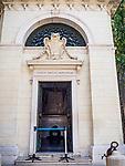 Façade, Dante's tomb, Ravenna, Italy