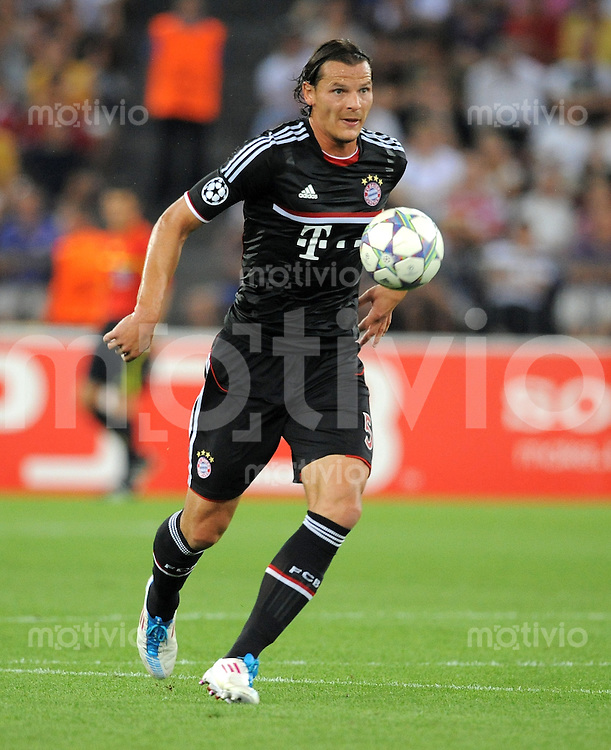 FUSSBALL   CHAMPIONS LEAGUE   SAISON 2011/2012  Qualifikation  23.08.2011 FC Zuerich - FC Bayern Muenchen Daniel van Buyten (FC Bayern Muenchen)