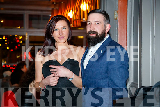 Izabela Puzako and Cormac Lawrence, Tralee and Killarney, who celebrated their engagement at No. 4 The Square, Tralee on Friday night last.