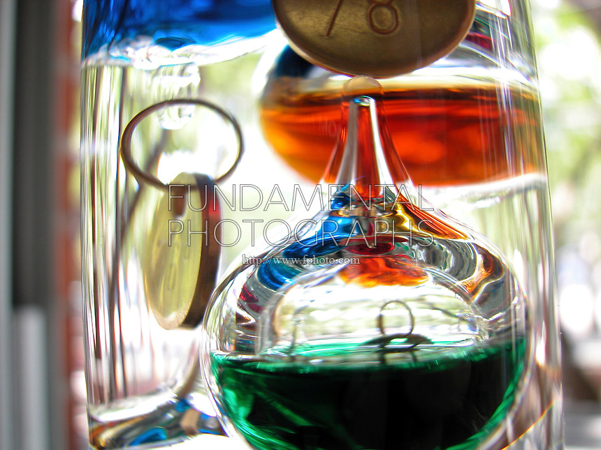 GALILEO THERMOMETER OR TERMOMETRO LENTOS <br />