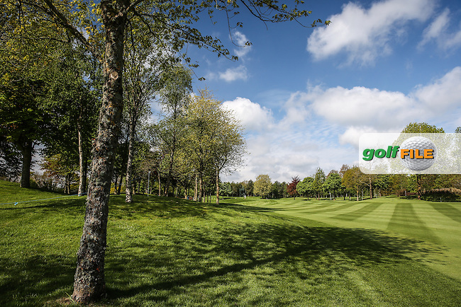 View up the 5th fairway during Tuesday's practice round ahead of the 2016 Dubai Duty Free Irish Open Hosted by The Rory Foundation which is played at the K Club Golf Resort, Straffan, Co. Kildare, Ireland. 17/05/2016. Picture Golffile | David Lloyd.<br /> <br /> All photo usage must display a mandatory copyright credit as: &copy; Golffile | David Lloyd.