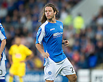 St Johnstone FC...Season 2012-13.Stevie May.Picture by Graeme Hart..Copyright Perthshire Picture Agency.Tel: 01738 623350  Mobile: 07990 594431
