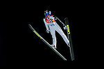 Peter Prevec of Slovenia during the Men's Normal Hill Individual of the 2014 Sochi Olympic Winter Games at Russki Gorki Ski Juming Center on February 9, 2014 in Sochi, Russia. Photo by Victor Fraile / Power Sport Images