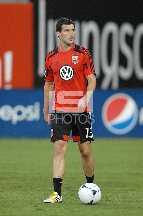 D.C. United midfielder Chris Pontius (13) The New York Red Bulls tied D.C. United 2-2 at RFK Stadium, Wednesday August 29, 2012.