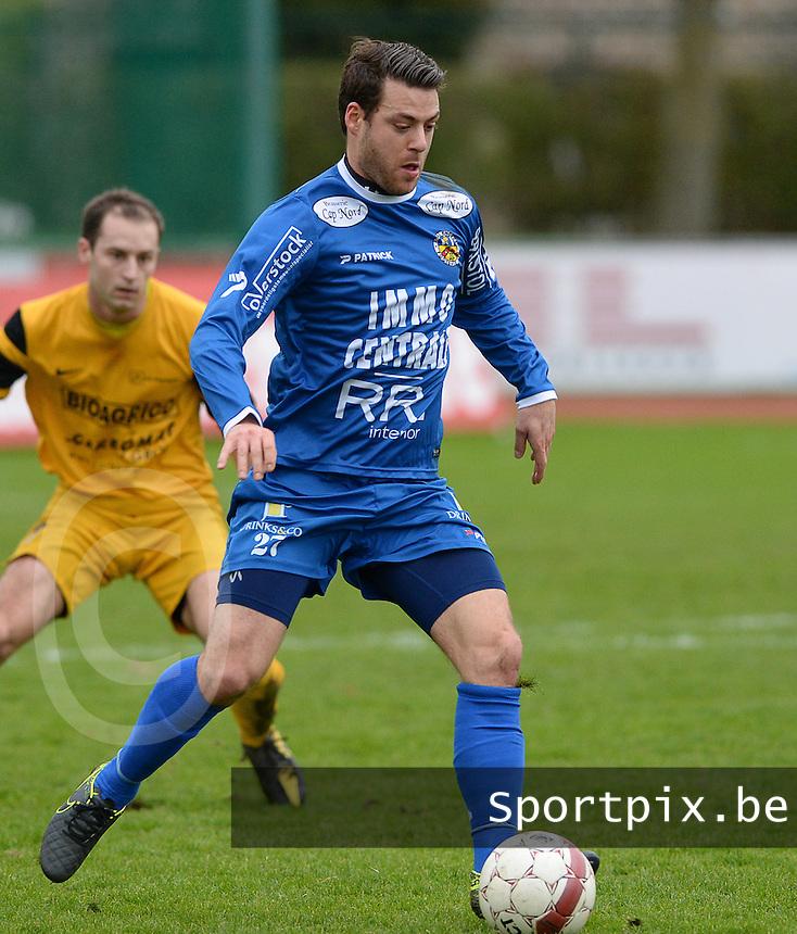 R Knokke FC : Mattis Persoons<br /> Foto VDB / Bart Vandenbroucke