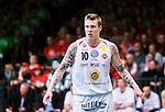 S&ouml;dert&auml;lje 2015-04-19 Basket SM-Final 1 S&ouml;dert&auml;lje Kings - Uppsala Basket :  <br /> Uppsalas  Axel Nordstr&ouml;m med ett pl&aring;ster &ouml;ver h&ouml;ger &ouml;ga under matchen mellan S&ouml;dert&auml;lje Kings och Uppsala Basket <br /> (Foto: Kenta J&ouml;nsson) Nyckelord:  S&ouml;dert&auml;lje Kings SBBK T&auml;ljehallen Basketligan SM SM-Final Final Uppsala Basket portr&auml;tt portrait