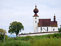 romanische Heiliggeistkirche- kostol sv.Ducha in Zehra, Kosicky kraj, Slowakei, Europa, UNESCO-Welterbe<br /> Romanesque Holy Spirit Church kostol sv.Ducha<br /> in Zehra, Kosicky krajj, Slovakia, Europe UNESCO world heritage