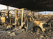 Ozark Regional Transit Bus Fire