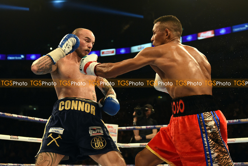Kevin Mitchell fights Ismael Barroso for the interim WBA World Lightweight Title at the O2 Arena, London