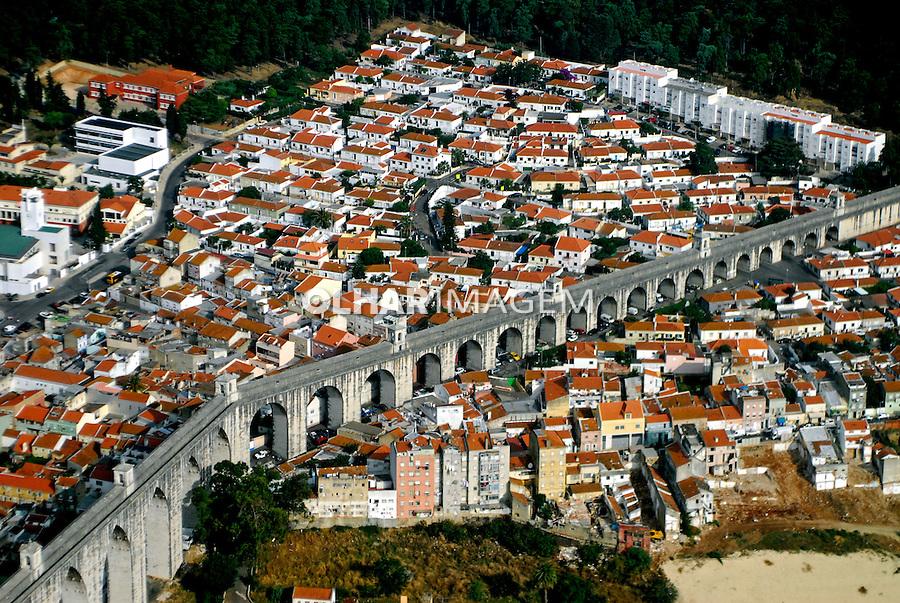 Aqueduto das Águas Livres em Lisboa. Portugal. 2006. Foto de Luciana Whitaker.