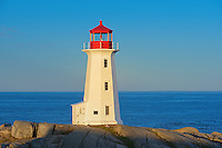 Peggy's Cove Lighthouse <br /> Peggy's Cove<br /> Nova Scotia<br /> Canada