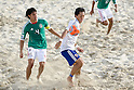 (L-R) Francisco Cati (MEX), Shusei Yamauchi (JPN), SEPTEMBER 02, 2011 - Beach Soccer : FIFA Beach Soccer World Cup Ravenna-Italy 2011 Group D match between Japan 2-3 Mexico at Stadio del Mare, Marina di Ravenna, Italy, (Photo by Enrico Calderoni/AFLO SPORT) [0391]