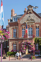 France, Calvados (14), Côte Fleurie, Houlgate:  Hôtel de ville  //  France, Calvados, Côte Fleurie, Houlgate:  City hall