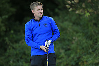 Conor Jameson (Wicklow)  during the final of the Irish Mid-Amateur Open Championship, Royal Belfast Golf CLub, Hollywood, Down, Ireland. 29/09/2019.<br /> Picture Fran Caffrey / Golffile.ie<br /> <br /> All photo usage must carry mandatory copyright credit (© Golffile   Fran Caffrey)