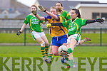 Sarah Houlihan for the Kerry ladies team that played Clare last Saturday afternoon in Listowel.