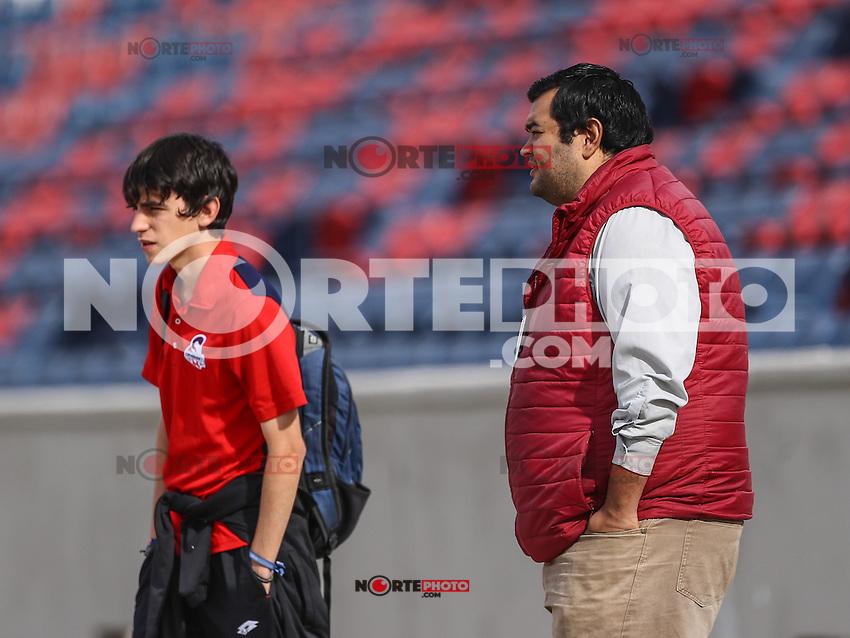 Heriberto Verduzco y Ricardo Arvizu <br /> Entrenamiento de Cimarronesfc ascensomx2017 clausura2017 <br /> <br /> &copy;Foto: LuisGutierrrez/NortePhoto.com