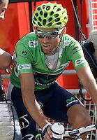 Alejandro Valverde after the stage of La Vuelta 2012 between La Robla and Lagos de Covadonga.September 2,2012. (ALTERPHOTOS/Acero) /NortePhoto.com<br /> <br /> **CREDITO*OBLIGATORIO** <br /> *No*Venta*A*Terceros*<br /> *No*Sale*So*third*<br /> *** No*Se*Permite*Hacer*Archivo**<br /> *No*Sale*So*third*