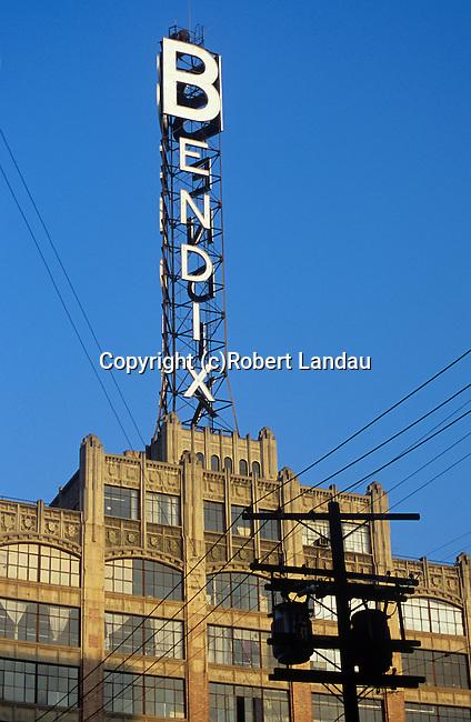 Bendix Sign, Downtown Los Angeles,<br /> 2002