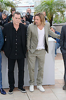 "Ray Liotta and Brad Pitt attending the ""Killing them Softly"" Photocall during the 65th annual International Cannes Film Festival in Cannes, France, 22nd May 2012..Credit: Timm/face to face /MediaPunch Inc. ***FOR USA ONLY***"