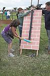 Hit the rat game, Suffolk Smallholders annual show, Stonham Barns, Suffolk, England, July 2008