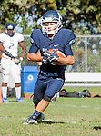 Palos Verdes, CA 09/24/16 - Zach Goodman (Chadwick #22) in action during the non-conference CIF 8-Man Football  game between Rolling Hills Prep and Chadwick at Chadwick.
