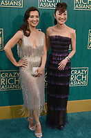 HOLLYWOOD, CA - AUGUST 7: Ming-Na Wen and Michelle Yeoh at the premiere of Crazy Rich Asians at the TCL Chinese Theater in Hollywood, California on August 7, 2018. <br /> CAP/MPI/DE<br /> &copy;DE//MPI/Capital Pictures
