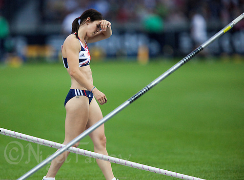 17 AUG 2009 - BERLIN, GER - Kate Dennison (GBR) - Womens Pole Vault - World Athletics Championships (PHOTO (C) NIGEL FARROW)