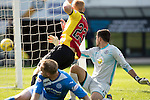 Partick Thistle v St Johnstone&hellip;10.09.16..  Firhill  SPFL<br />Steven Anderson puts the ball past Tomas Cerny and scores for saints<br />Picture by Graeme Hart.<br />Copyright Perthshire Picture Agency<br />Tel: 01738 623350  Mobile: 07990 594431