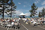 Several hundred people attended the Lake Tahoe Summit at Edgewood Tahoe in Stateline, Nev., on Monday, Aug. 13, 2012. The event, in its 16th year, brings political leaders from Nevada and California together to address issues related to preserving Lake Tahoe..Photo by Cathleen Allison