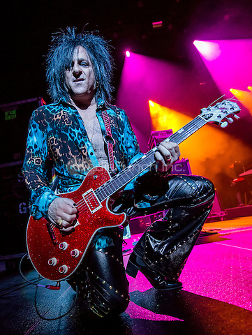 LAS VEGAS, NV - February 21: ***HOUSE COVERAGE***  Steve Stevens pictured as Billy Idol performs at The Chelsea at The Cosmopolitan of Las Vegas in Las Vegas, NV on February 21, 2015. Credit:  Erik Kabik Photography/MediaPunch